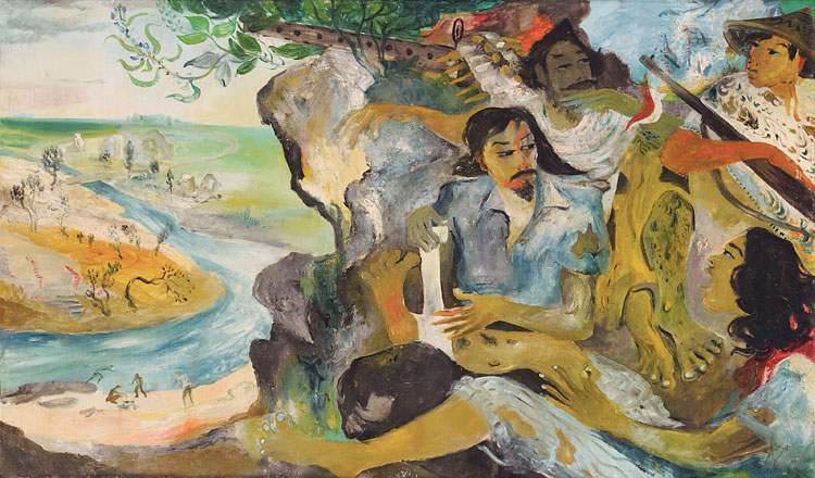 Lukisan Asal Indonesia